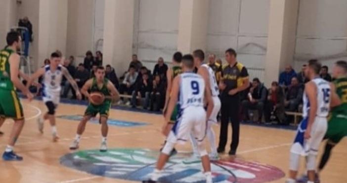 Баскетболният тим на Икономически университет-Варнапобеди с 91:77 (23:20, 20:12, 19:21,
