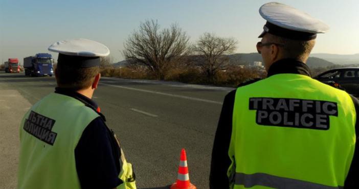 Снимка: МВРПри зимна обстановкасе увеличават рисковете за пътни инциденти с