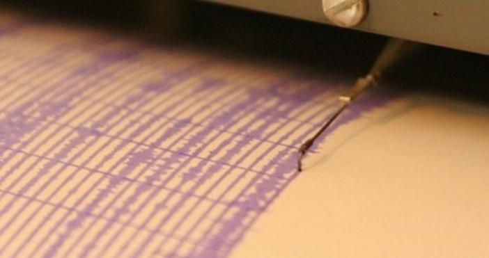 Регистрирано е земетресение с магнитуд 2.9 в района на Благоевград,