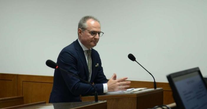 Снимка: Канал 3Председателят на Върховния касационен съд (ВКС) Лозан Панов
