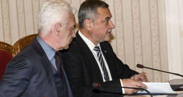 Снимка БулфотоОсемте депутати от партията на Валери Симеонов НФСБ са