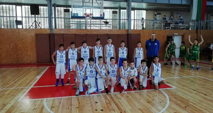 12-годишните баскетболисти на Черно море Тича записаха четири победи в