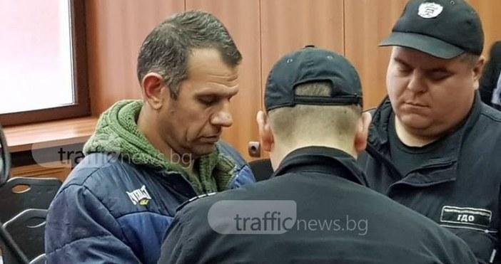 """СнимкаTrafficNews.bg""""Айде по-спокойно. Кой го каза, че съм убиецът"""", бяха единствените"""