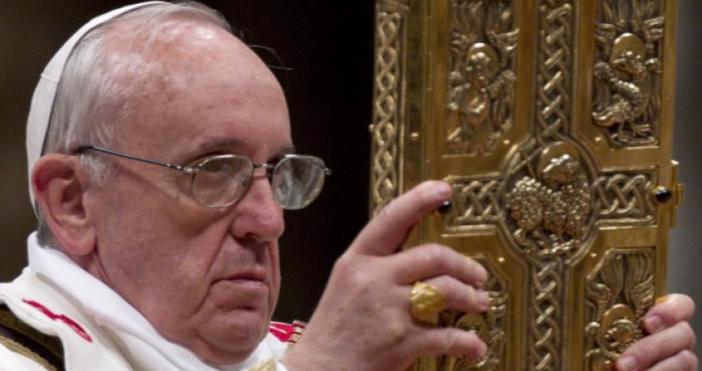 Папа Франциск ще посети България догодина в периода от 5