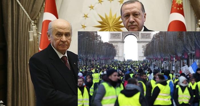 """Анкара. Председателят на турската партия """"Националистическо движение"""" Девлет Бахчели описа"""
