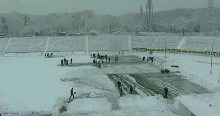 Снимка: БлицДвубоят между ЦСКА и Ботев (Пловдив) от 20-ия кръг