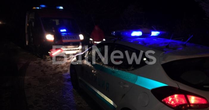 Мъж пострада при тежка катастрофа на международния път Е-79 между