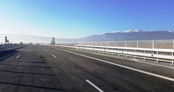 Снимка: АПИВъзстановено е движениетопо пътя Своге – Нови Искър. Това
