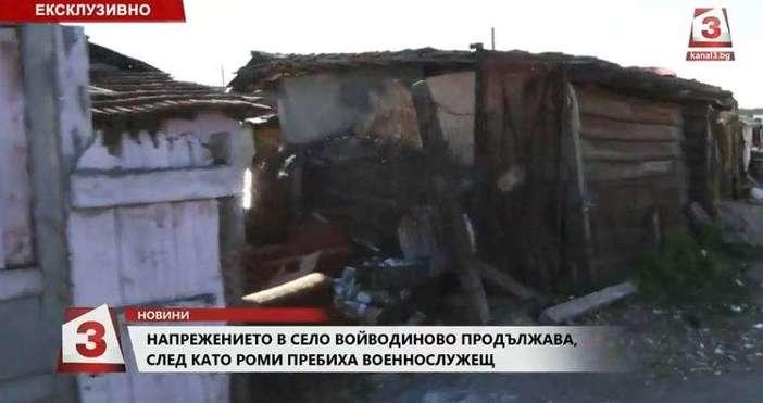 Кадър: Канал 3Всичките жители в незаконните постройки в ромскатамахала в