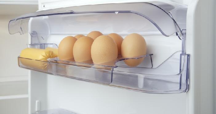 Ако държите яйцата си на вратата на хладилника, мислейки, че