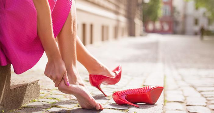 Разберете най-честите причини за поява на болки в стъпалата и