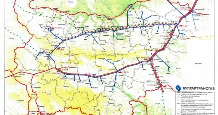 Трите компании, които са проявили интерес към разширението на газопровода