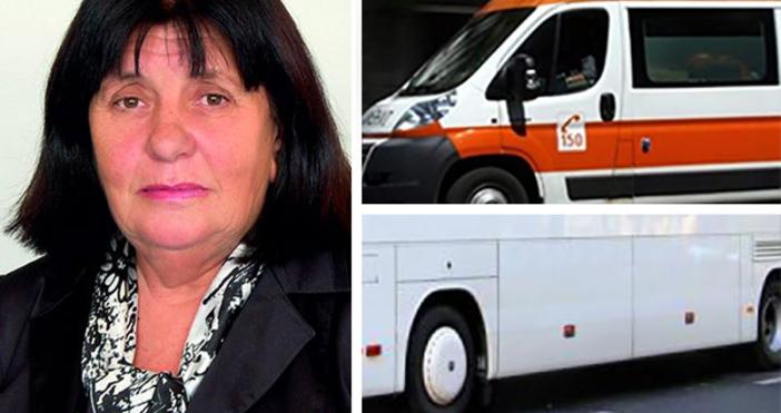 Починалият шофьор зад волана на автобус, който причини верижно меле