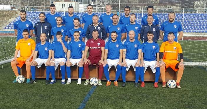 Футболистите на Спартак се снимаха за новия клубен календар предз
