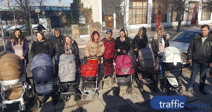 Снимка: Trafficnews.bgОгромен ръст на раждаемостта отчетоха в пловдивското село Устина.