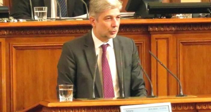 Министърът на околната среда и водите Нено Димов коментира последните