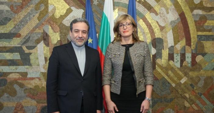 Вицепремиерът и министър на външните работиЕкатерина Захариеваприе днес заместник-министъра на