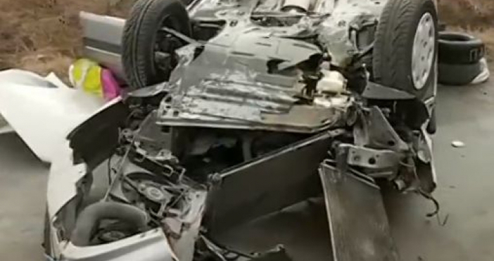 Пострадалият при катастрофата на магистрала