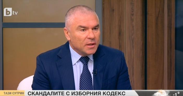 Кадър: БТВТоку що в ефира Веселин Марешки захапа жестоко БСП