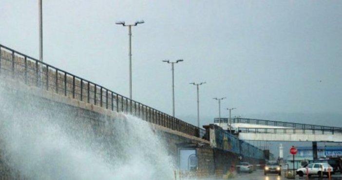 Снимка: Силният вятър във Варна причини множество инциденти
