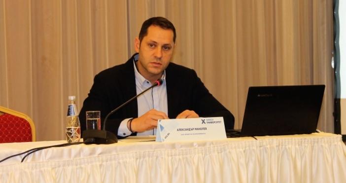 Снимка: Александър Манолев: За 10 години БВП на България се е увеличил с 30 млрд. лв.