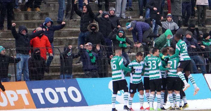 Снимка: Черно море удари и Лудогорец и е с пълен актив победи над тимовете от Топ 3
