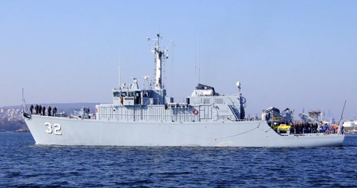 Кораби от втората постоянна противоминна група на НАТО са във
