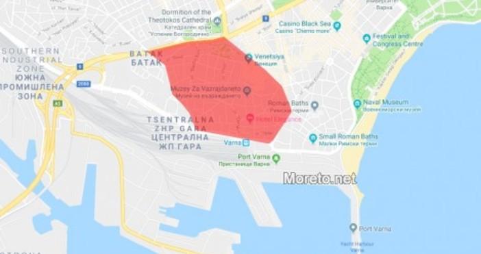 Голяма част от центъра на Варна ще остане без вода