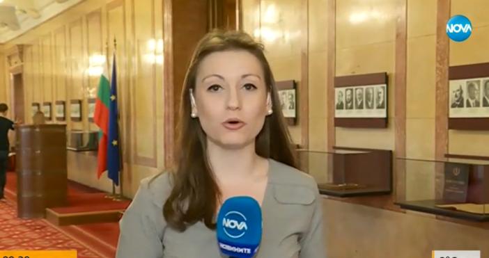 Кадър: Нова ТвВъпреки заканата на Марешки да напуснат парламента, депутати