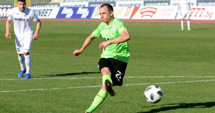 Капитанът на Черно море Георги Илиев заяви, че отборът може