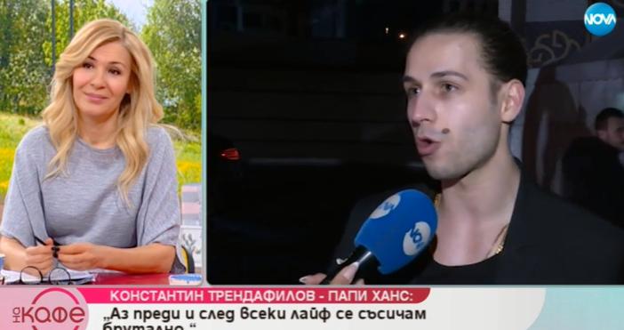 Кадри: Нова ТвПоетът и певец КонстантинТрендафилов, известен като Папи Ханс,
