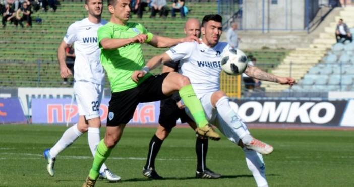 В паузата на първенството Черно море ще изиграе пореден контролен