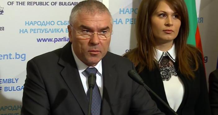 Снимка БулфотоЗам.-председателят на НС и лидер на ПП ВоляВеселин Марешкисе