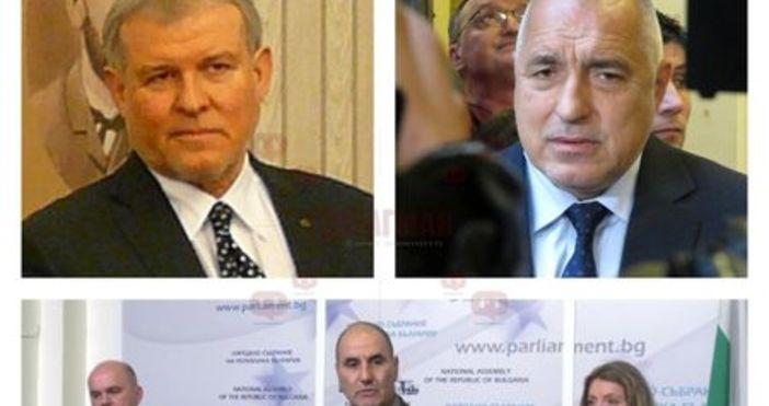 Лидерът на ГЕРБ Бойко Борисов лично поема разговорите за коалиция