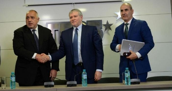 Снимка: Канал 3Премиерът и лидер на ПП ГЕРБ Бойко Борисов