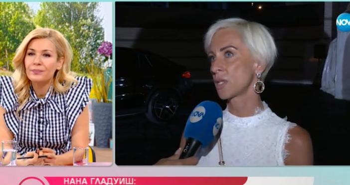 """Кадър: Нова ТВТв водещата Нана Гладуиш даде интервю за """"На"""