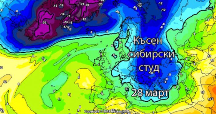 meteobalkans.comСлед мартенските жеги и отчетени най-високи температури от 31 октомври