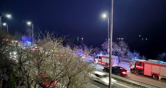 Снимка: Иван Енев, Виждам те КАТ-ВарнаТежък пътен инцидент е станал