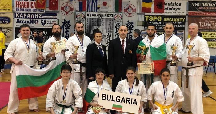 7-мото Балканско Първенство по Карате Киокушин за деца, юноши, девойки,