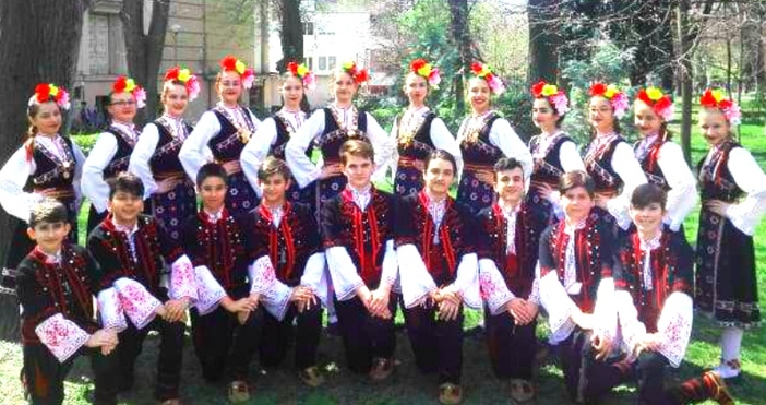 """Танцов ансамбъл """"Българче"""" при ЦПЛР – Общински детски комплекс -"""
