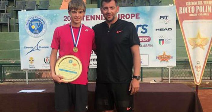 Тенис Европа награди официално Пьотр Нестеров за тенисист номер 1