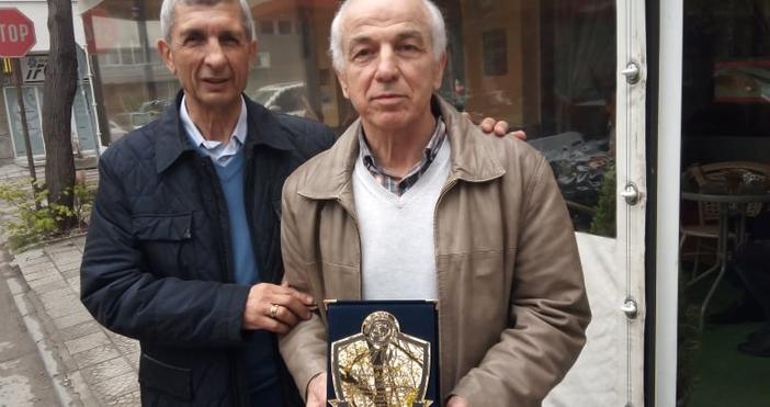 Снимка: Наградиха Кеворк Тахмисян за 70-годишния му юбилей! Той разкри най-приятния си спомен на терена