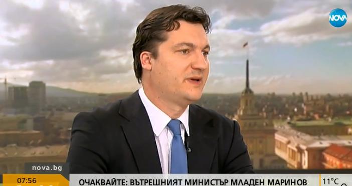 Снимка: Крум Зарков от БСП: 90% от българите биха застанали зад думите на президента Радев