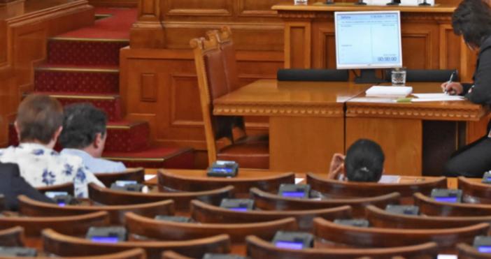 Снимка: БулфотоДепутатитегласуват на първо четене промени в Закона за местното