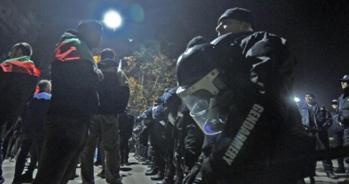 Снимка: БулфотоВ Габрово започна третият пореден протест след побоя над