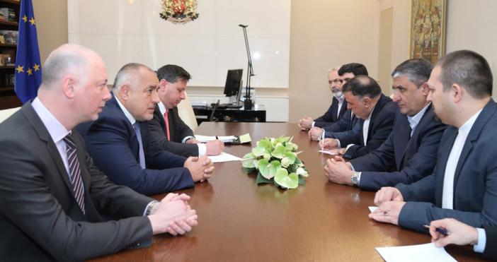 Министър-председателят Бойко Борисов се срещна с министъра на пътищата и