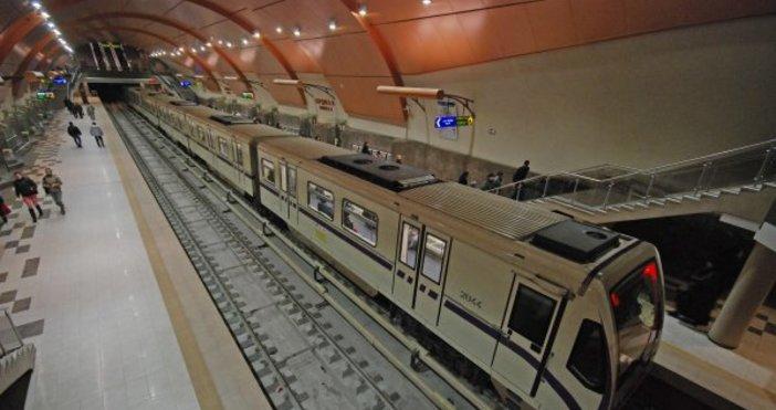 Снимка: Метростанция Летище София вече е отворена
