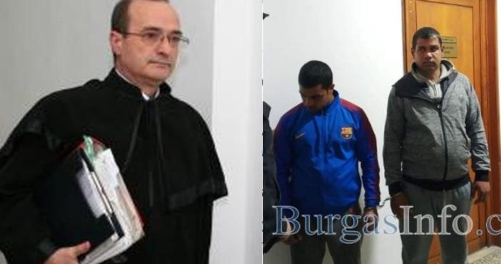 Автор и източник:www.burgasinfo.comИван вкара в размишление уважавания съдия Захариев: Има