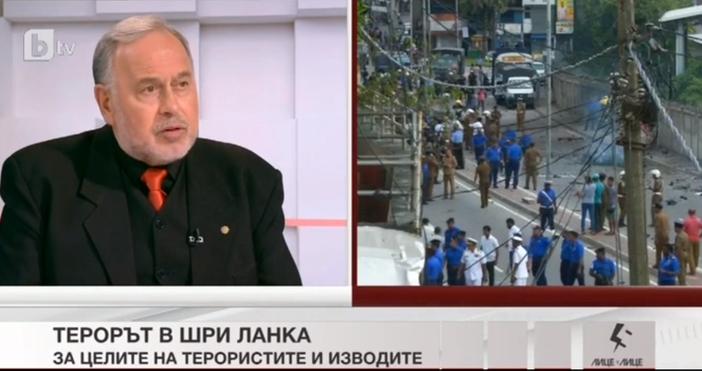 Снимка: Току що Славчо Велков разтърси ефира: В атентатите в Шри Ланка са участвали...