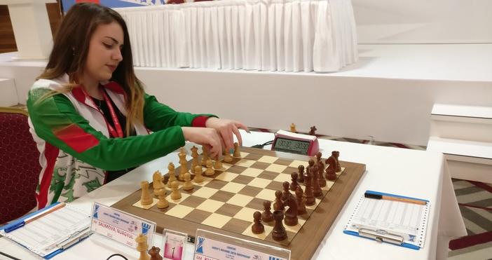 Снимка: Златното момиче на българския шах Нургюл Салимова вече е гросмайстор за жени